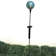 el solar de mercurio azul bola de cristal juego de jardín de luz