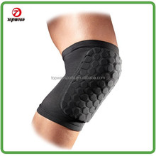 Made in China Compression HexPad Protective black knee pads for basketball