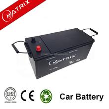 Car batteries mf rechargeble sealed lead acid battery 12V 150AH
