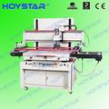 une seule couleur semi automatique machine de sérigraphie pour la feuille de pvc avec une table vide