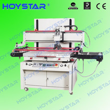 Single color semi automatic screen printing machine for pvc sheet with vacuum table