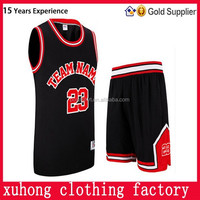 Custom Best Latest Basketball Jersey Design 2015 China Manufacturer