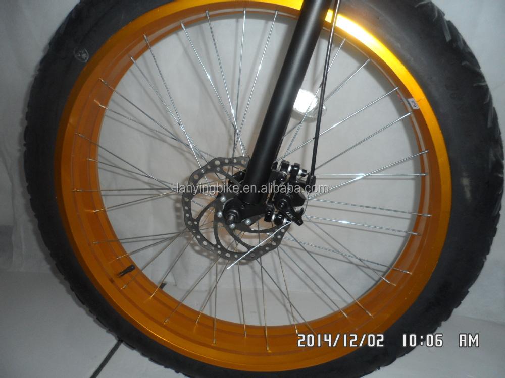 2015 높은 품질의 26 인치 4.0 지방 눈 자전거 타이어 자전거