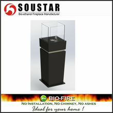 High quality non wood burning cast iron outdoor fireplace, gel fireplace