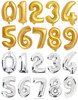 40inch Inflatable Alphabet Letter Foil Balloons