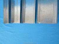standard ceiling drywall metal tracks/ gypsum board stud and track