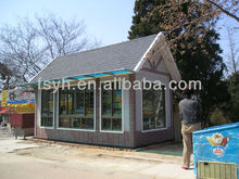 shanghai exhibition booth construction container house