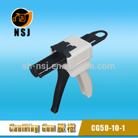 Dental pneumatic sealant gun for resin spray gun 50ml 4:1/10:1