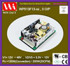 Triple output 24 volt dc 12 volts 5 v pc switching power supply