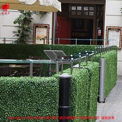 Decorative plastic garden fencing cheap green garden fencing