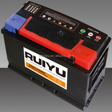 sealed value lead acid battery DIN100 MF car starting battery with best price
