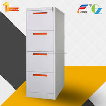 Hot sale Metal storage cabinet -4 drawer tall file cabinet with recessed handle