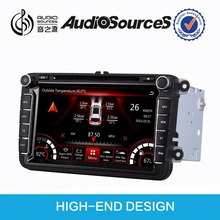"8"" car radio for vw passat b6 gps navigation dvd player with can bus OPS IPAS door cue car infor OBD RNS510"