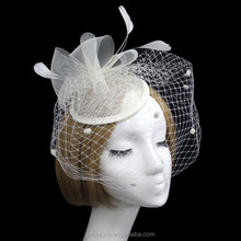 2015 New Coming Wedding/Party/Chirstmas Veil Hat Fascinator Headpieces