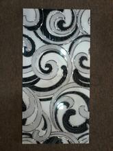 Metallo smaltato tegola, alto grado, bagno di lusso design, super nero piastrelle 300x600mm