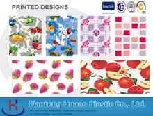 Claro cubierta de mesa de plástico mesa de dibujos animados tela cubierta de mesa de plástico con dibujos