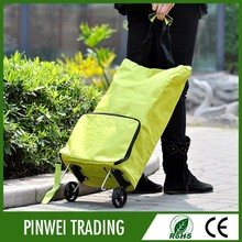 foldable trolley shopping bag wholesale / shopping trolly bag