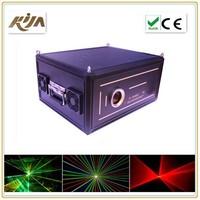 Professional lighting 5w rgb laser lights programmable laser projector