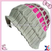 2013 fashion beautiful free knitted beanie hat pattern