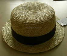 2014 new fashion paper straw fedora hat for unisex gender