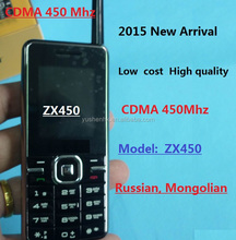 2015 New Low cost cheap CDMA 450 Mhz mobile phone ZX450 Russian Mongolian Skylink Gmobile CDMA 450