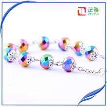 2015 New Religious Stone Rosary Bracelet