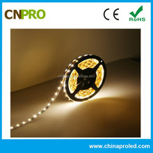 CE ROHS Approved DC 12V SMD 5050 NonWaterproof 2400k Warm White LED Strip Lighting