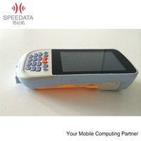 Portable WINCE mobile android OS rfid card reader with wifi handheld PDA