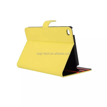 Premium Leather Wallet Case with STAND Flip Cover for iPad mini 4