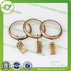 Round curtain metal rings,decorative curtain ring clip