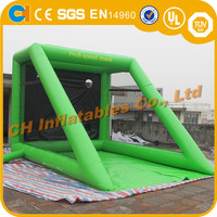 Indoor Inflatable Football Goal, Inflatable football skill shoot for kids, small inflatable football field