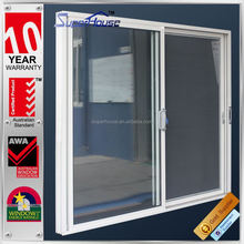AS2208 double glazing glass Residential House with WERS aluminum gliding door