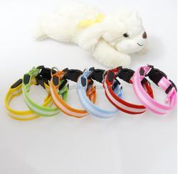 Wholesale Safety Luminous Glow Pet Dog LED Collar Necklace
