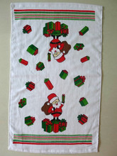 custom made cheap wholesale cotton printed disposable kitchen towel