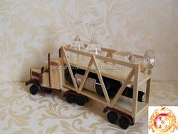 wooden craft model car