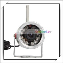 2.4Ghz 12 IR LEDS Night Vision Wireless Security Outdoor Camera