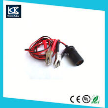 Car Battery Cables Battery Tender Female Cigarette Adaptor for Quick Disconnect