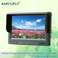 7inch CCTV LCD Monitor with HD-MI/DVI/AV input(KPT6068H/Y/A)