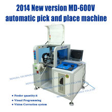High precision led lamp production line/ MD-600V vision bulb making equipment