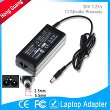 guangzhou hot selling 65w 20v 3.25a laptop charger for LENOVO