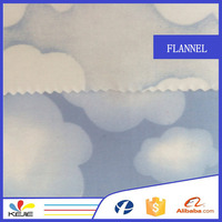150gsm Flannel fabric for baby brushed flannel fabric cloth