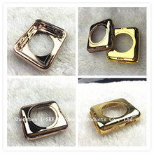 High quality 18kt 24kt gold housing for apple watch phone with all buttons