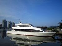 24M Fiberglass Passenger Boat Passenger Ferry Boat For Sale 30 Persons Passenger Boat