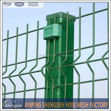 Backyard bend fence/Curvy fence panel/ISO certificate factory