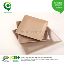Rice Husk Eco Decomposable Plate