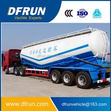 Wow,high quality 40CBM China mine powder / concret cement transport tank truck trailer