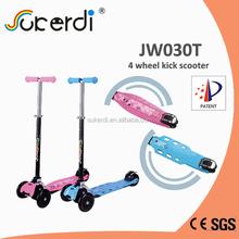 4 PU wheel light weight kids scooter
