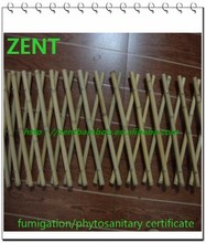 ZENT-36 Expanding folding bamboo garden trellis lattice fence