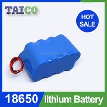 7.4v 40ah hot sales batery 1x18650 lithium rechargeable battery