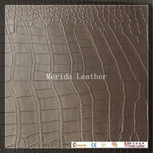 MRD2640 wholesale price faux leather guangzhou huadu leather crocodile skin fabric